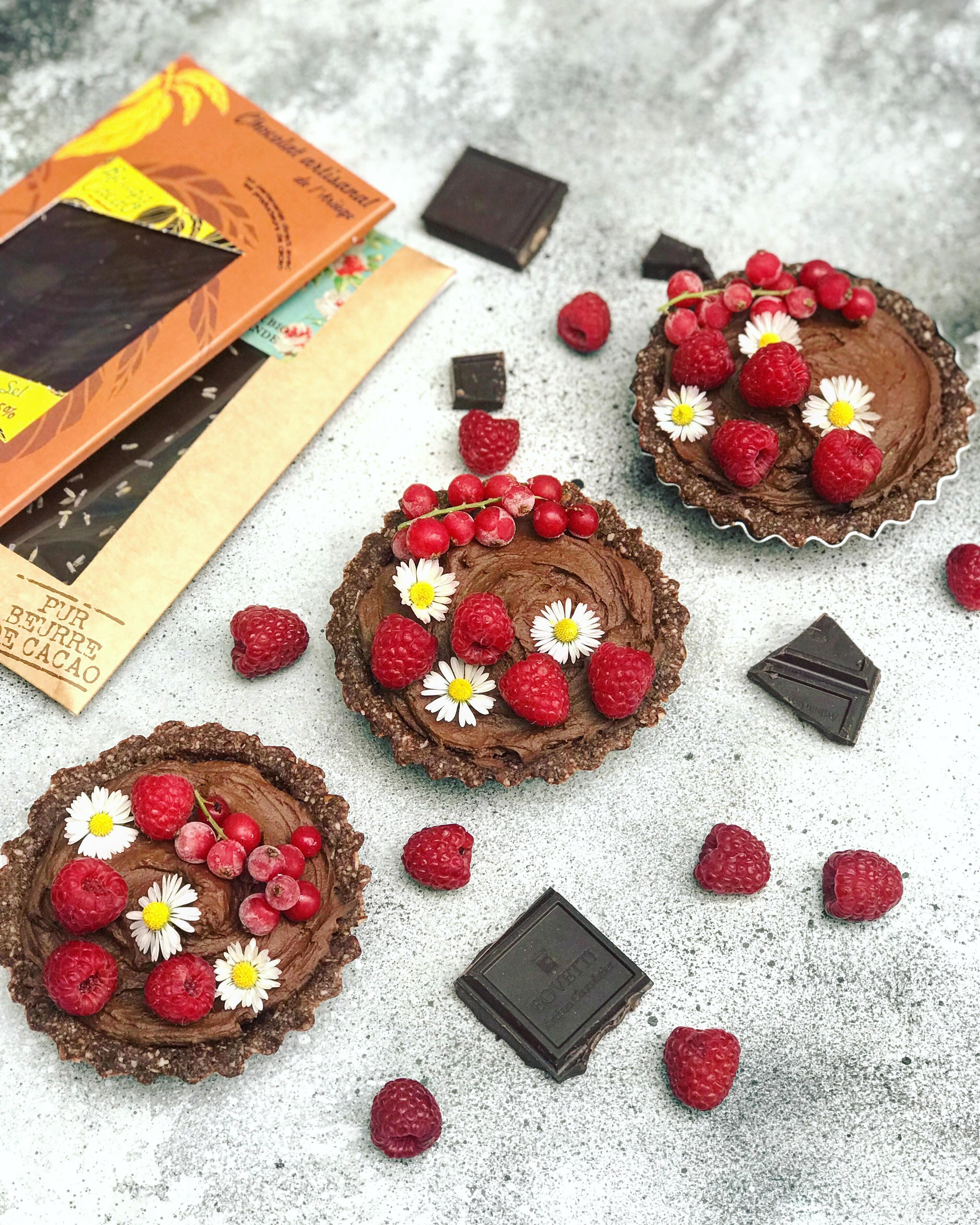 Tarte au chocolat sans gluten et sans lactose