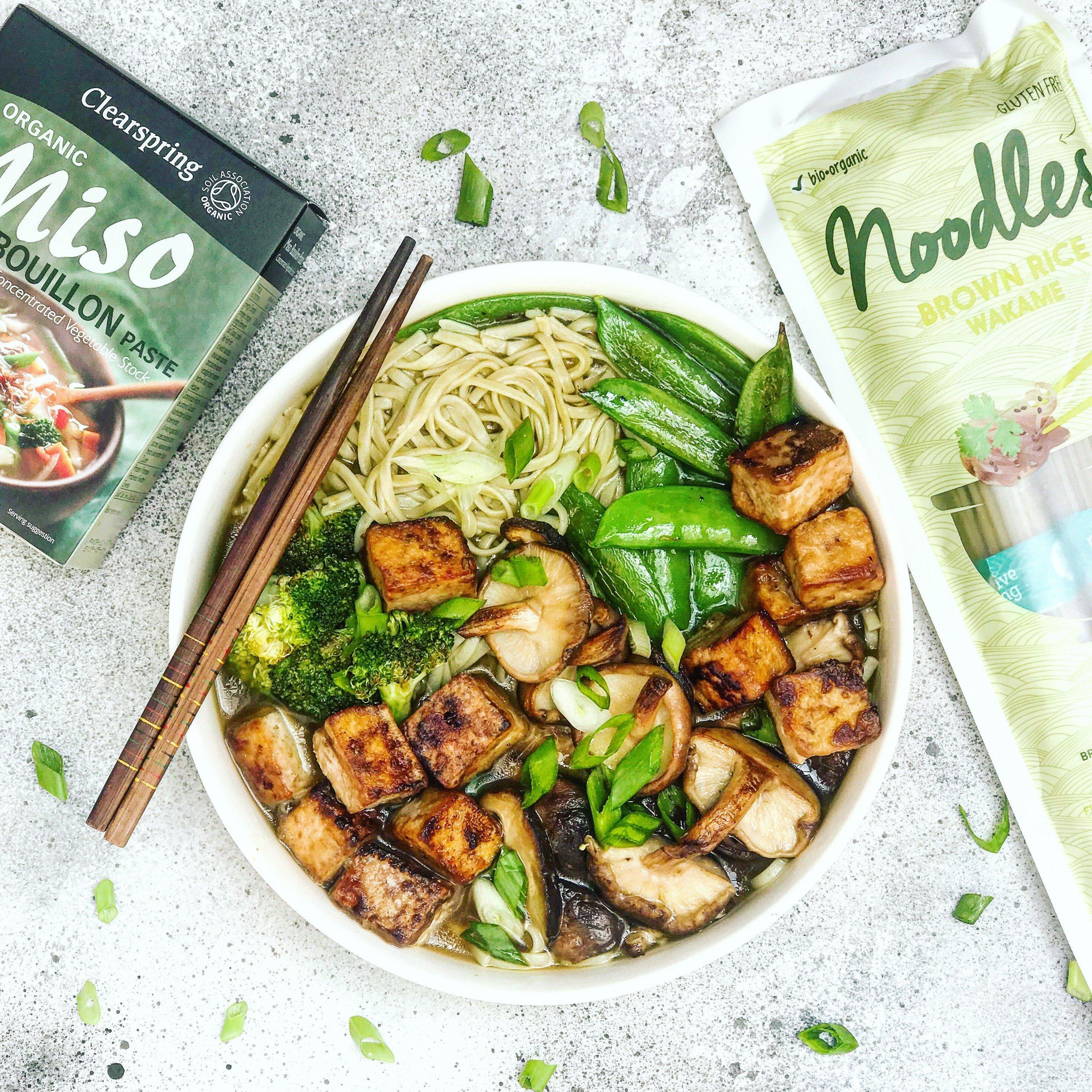 Ramen au miso et au tofu