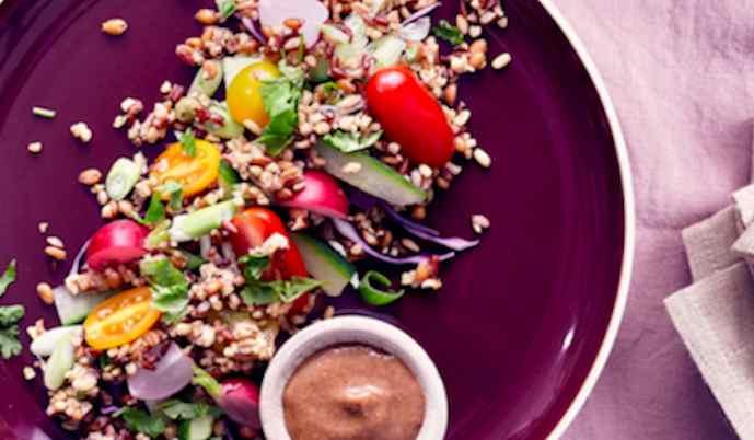 Salade Vegi Mix et avocat