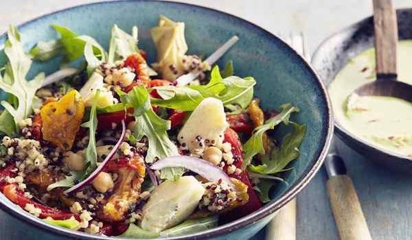 Salade végétarienne estivale