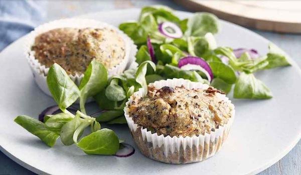 Muffins salés Vegi Mix façon Carrot Cake