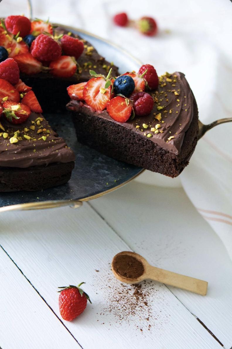Chocolate Fudge Cake à IG bas
