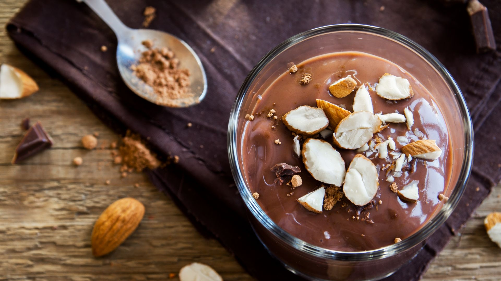 Crème au chocolat vegan et sans gluten