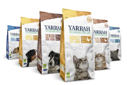 Yarrah: organic food for your dogs and cats