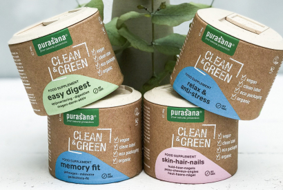 The new Clean & Green supplement line by Purasana